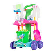 Toy Time Toy Cleaning Supply Cart