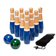 Toy Time Lawn Bowling Skittle Ball Game Set