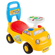 Toy Time Activity Car Ride-On