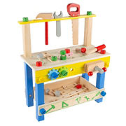 Toy Time Wooden Toy Workbench