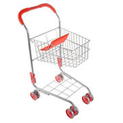 Toy Time Kids Grocery Cart Pretend-Play