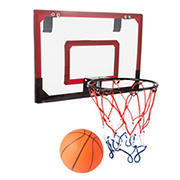 Toy Time Mini Basketball Hoop with Ball for Over the Door Play