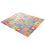 Toy Time 56-Pc. Interlocking Foam Shape Tiles
