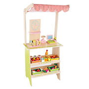 Toy Time Kids Fresh Market Selling Stand
