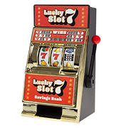 Toy Time Tabletop Slot Machine Coin Bank