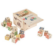 Toy Time Letter and Number Blocks Set