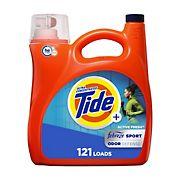 Tide Plus Febreze Sport Odor Defense Liquid Laundry Detergent, 165 fl. oz.