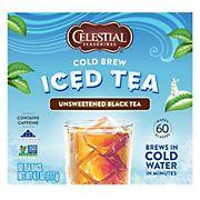 Celestial Seasonings Cold Brew Iced Tea, 60 ct.
