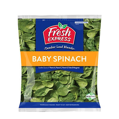 Fresh Express Spinach, 20 oz.