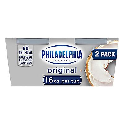 Kraft Philadelphia Regular Cream Cheese Spread, 2 pk./16 oz.