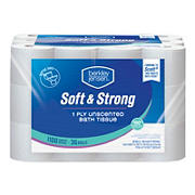 Berkley Jensen 1-Ply Bath Tissue, 6 ct.