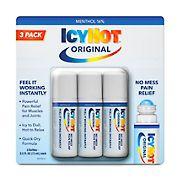 Icy Hot Medicated No Mess Applicator, 3 ct.