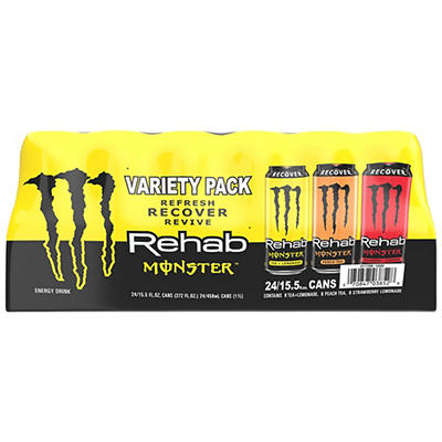 Monster Iced Tea Energy Drink, 24 ct./16 oz.