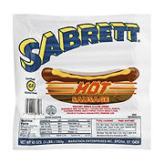 Sabrett All-Beef Hot Sausage, 3 lbs.