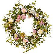 "National Tree Company 24"" Spring Wreath"