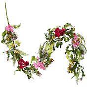 "National Tree Company 72"" Hydrangea Flowers Garland"