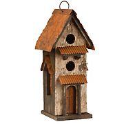 """National Tree Company 13"""" Birdhouse"""