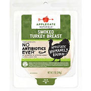 Applegate Naturals Smoked Turkey Breast, 7 oz., 2 pk.
