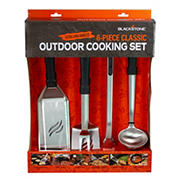 Blackstone 6-Pc. Classic Outdoor/Indoor Cooking Set with XL Handles