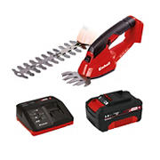 EINHELL GE-CG Power X-Change 18V Handheld 2-in-1 Grass Shear and Hedge Trimmer Kit