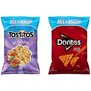 Doritos Nacho Cheese & Tostitos Scoops - Pick n' Pack