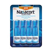 Nasacort Allergy 24-hour spray, 4 pk.