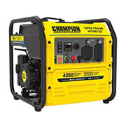 Champion 4,500W Peak/3,500W Rated RV Ready Open Frame Inverter Generator with Quiet Technology