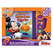 Disney Mickey Mouse Clubhouse - Halloween Surprise Sound Book and Flashlight Set
