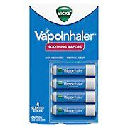 Vicks VapoInhaler Soothing Vapors, 4 ct.