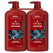 Old Spice Body Wash for Men, Krakengard, Long Lasting Lather, Twin Pack - 30 fl. oz.