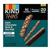 Kind Thins Dark Chocolate Nuts & Sea Salt, 20 ct.