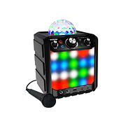 ION Audio Party Rocker Effects Bluetooth Speaker with Light Show and Microphone