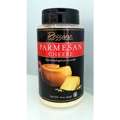 Rozzano Parmesan Cheese, 16 oz.