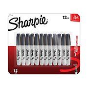 Sharpie Chisel Marker Black, 12 ct.