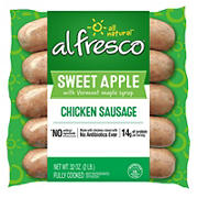al fresco Sweet Apple Fully Cooked Chicken Sausage, 32 oz.
