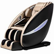 Best Massage Next Generation 2D Massage Chair with Bluetooth Speakers and LED Light Therapy - Beige