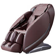Best Massage Ultra Intelligent 2D Zero Gravity Massage Chair with Bluetooth Speakers and LED light therapy - Brown