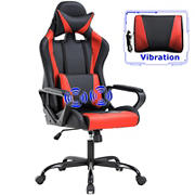 Best Office Red Executive Gaming Office Chair Race Car Design with Lumbar Support