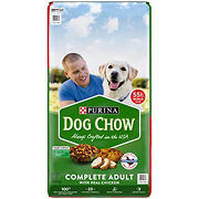 Purina Dog Chow Dry Dog Food Complete Adult With Real Chicken, 55 lbs.