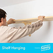 Handy Picture and Shelf Hanging Services, Up to 3 Pieces