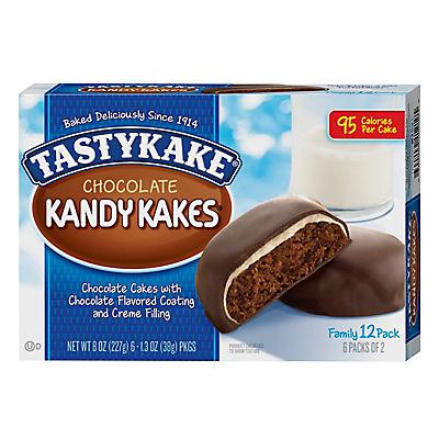 Tastykake Chocolate Kandy Kakes, 6 ct./1.3 oz.