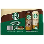 Starbucks Doubleshot Energy Coffee Beverage Variety Pack, 12 pk./15 oz.