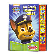 Paw Patrol - I'm Ready To Read with Chase Sound Book
