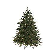Northlight GKI/Bethlehem Lighting 4.5' Pre-Lit Full Hunter Fir Artificial Christmas Tree - Clear Lights