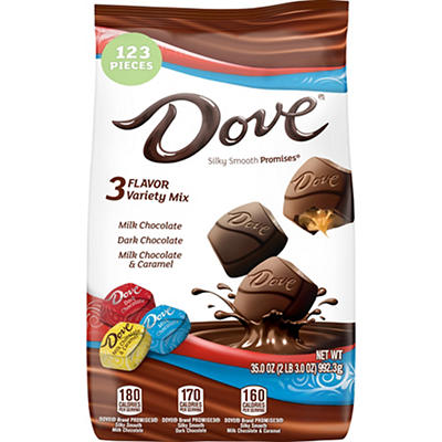 Dove Assorted Chocolates, 35 oz.