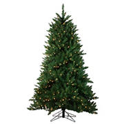 Northlight 6.5' Pre-Lit Medium Montana Pine Artificial Christmas Tree - Clear Lights