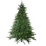 Northlight 7.5' Pre-Lit Medium Minnesota Balsam Fir Artificial Christmas Tree - Warm Clear LED Lights