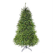 Northlight 7.5' Pre-Lit Full Northern Pine Artificial Christmas Tree - Multicolor LED Lights