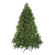 Northlight 7.5' Pre-Lit Noble Fir Full Artificial Christmas Tree - Multi-Color Lights