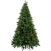 Northlight 7.5' Pre-Lit Medium Ashcroft Cashmere Pine Artificial Christmas Tree - Warm White LED Lights